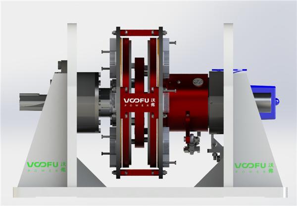 WF-TD 空冷水平双基座型永磁调速器