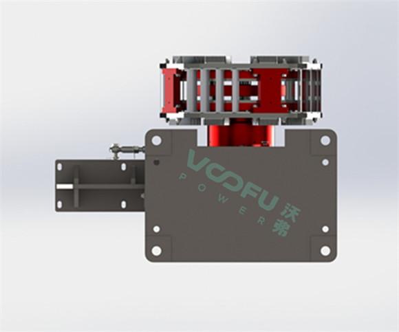 WF-TM 空冷水平基座型永磁调速器