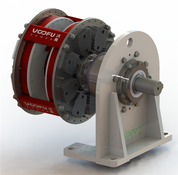 WF-CT-T 扭矩限制型永磁偶合器(单支撑型)