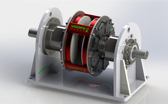 WF-CT-D 扭矩限制型永磁偶合器(双支撑)