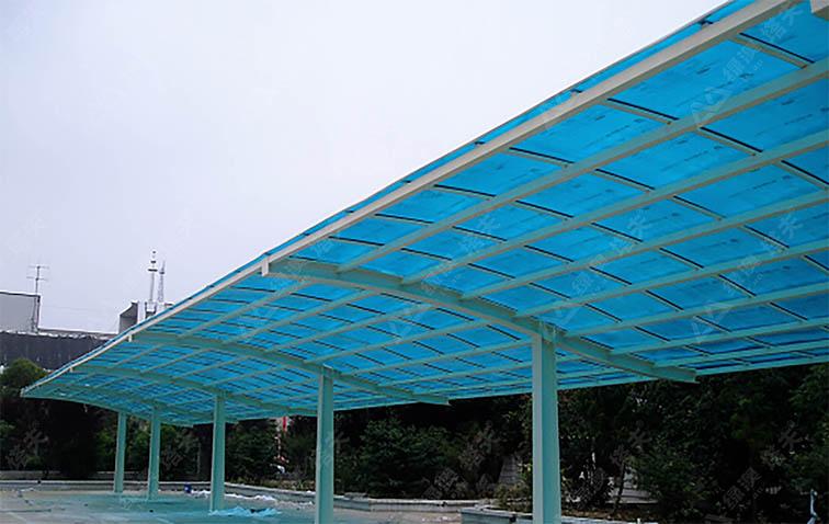 PC阳光板,成品雨棚--上海绿澳新材料科技有限公司