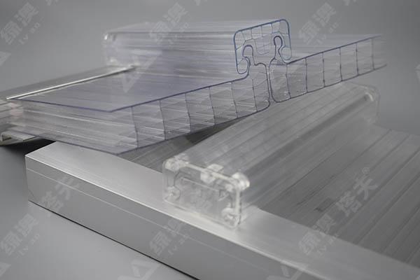 U型锁扣板,PC锁扣板-上海绿澳新材料科技有限公司
