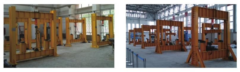 结构工程梁柱教学实验系统