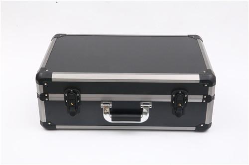 黑色包角仪器箱