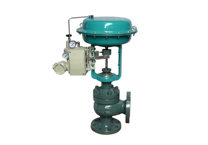 ZMAS/ZMBS气动薄膜角形高压单座调节阀