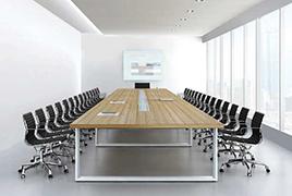会议桌在办公空间规划布局的合理性及重要性
