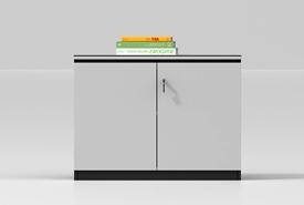 Wood filing cabinet-MZ05