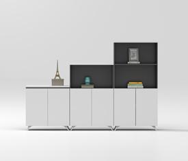 Wood filing cabinet-MZ07