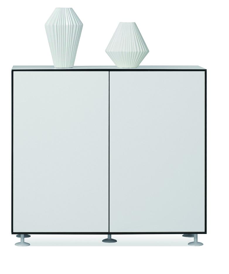 Wood filing cabinet-W470