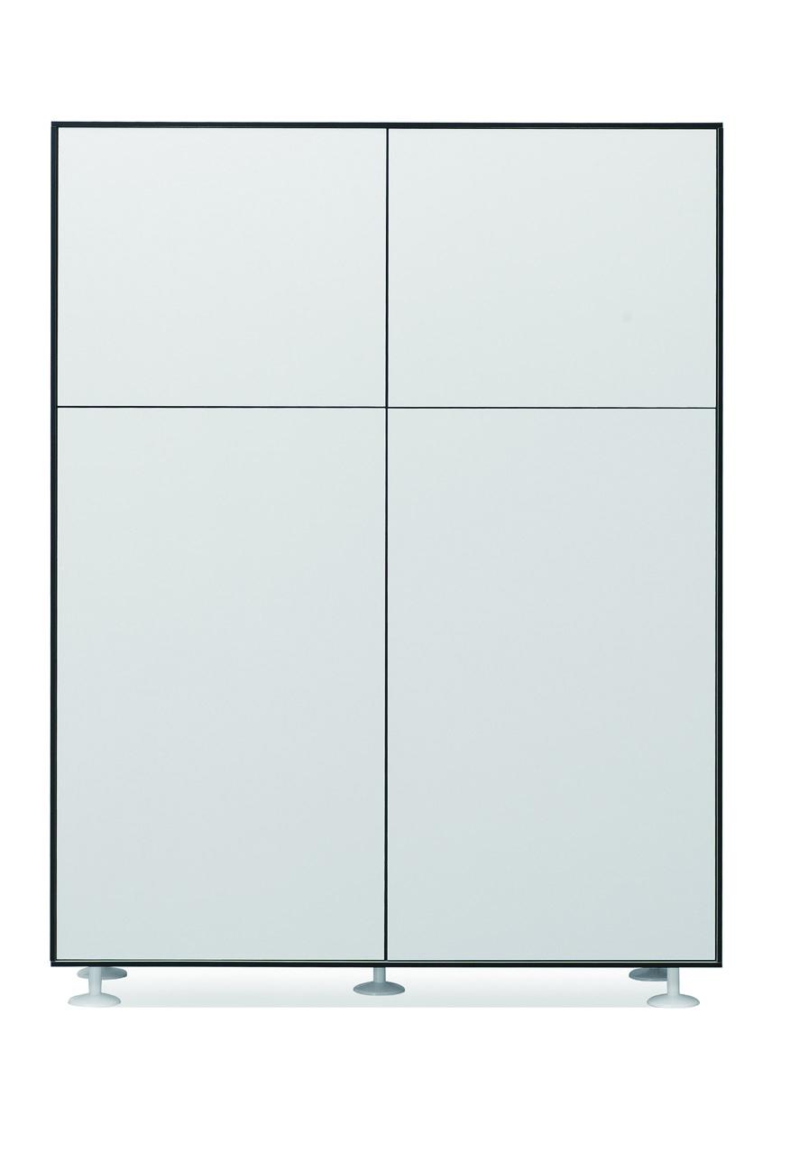 Wood filing cabinet-W471