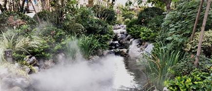 人工造雾贝斯特全球最奢华网页在现代园林景观设计中的应用