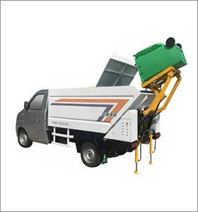 后装桶(压缩)垃圾清运车PD-QY4350HF
