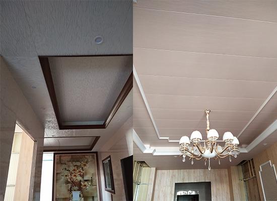 竹木纤维墙板天花吊顶图