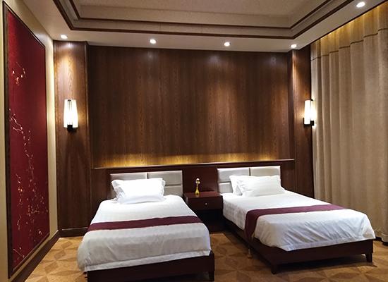 竹木纤维墙板装修宾馆案例