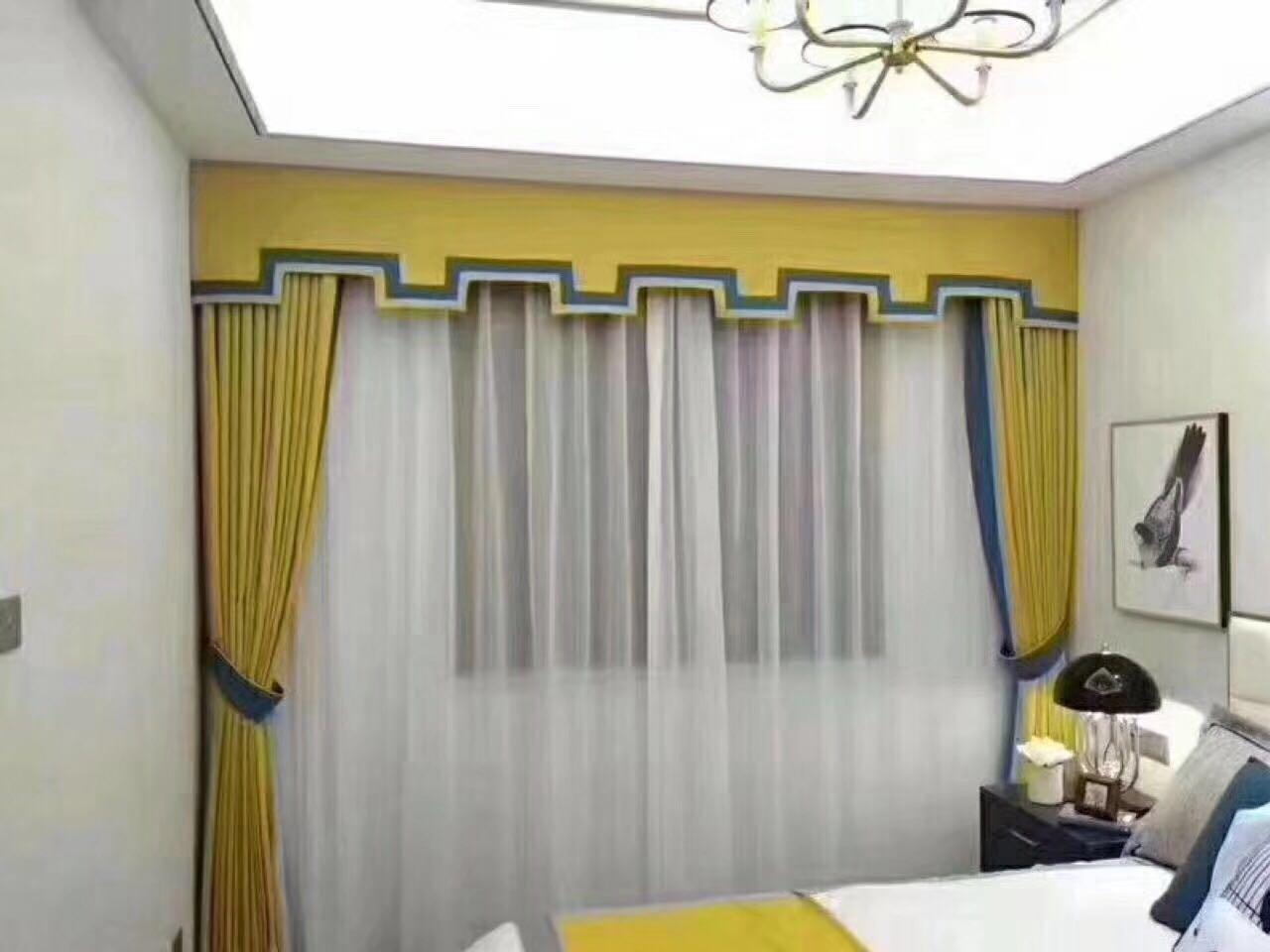 新中式窗帘