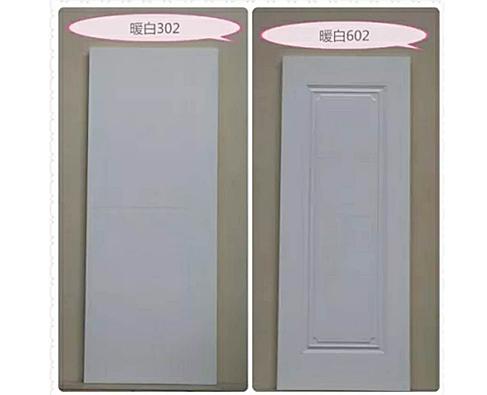 板材十大品牌-康居宝贝室内木门-暖白上