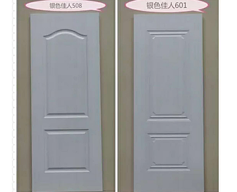 板材十大品牌-康居宝贝室内木门-银色佳人