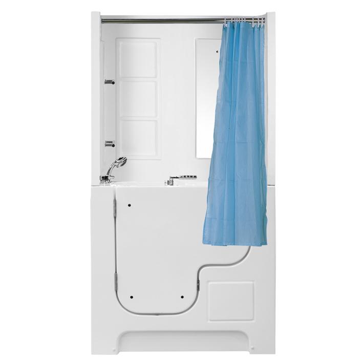 23B1护理浴缸轮椅人士坐浴浴缸开门浴缸