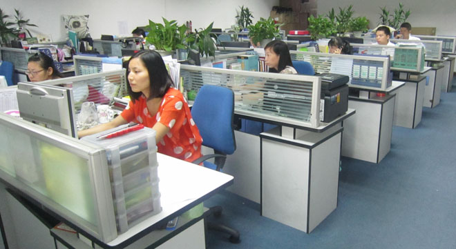 Sales logistics department
