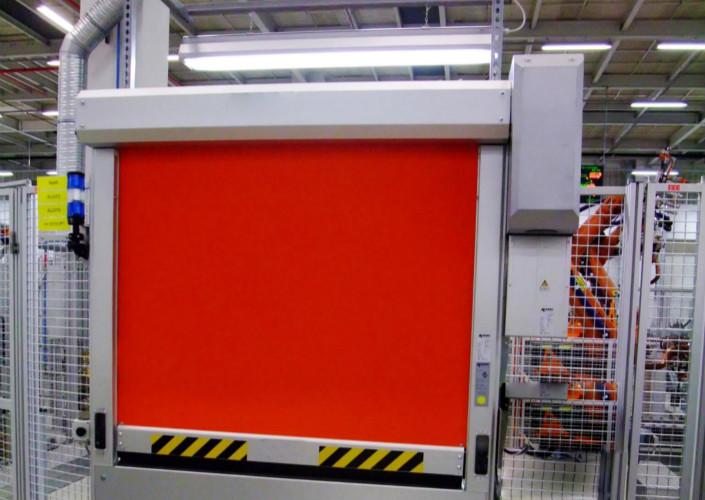 Machine protection fast door manufacturers