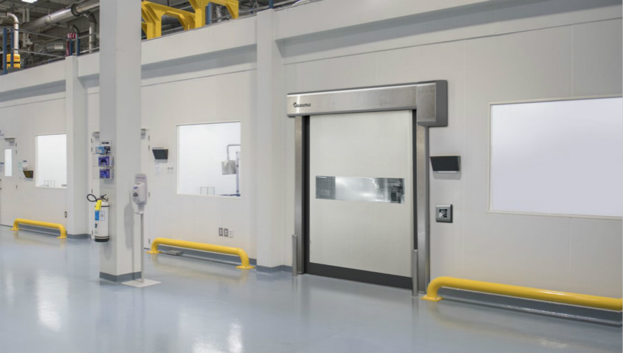 clean room high speed doors