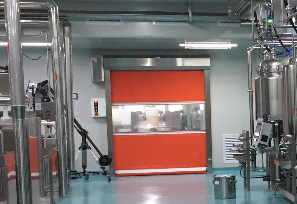 Industrial fast door