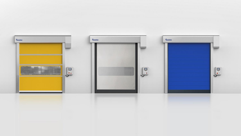 快速卷帘门分类和应用