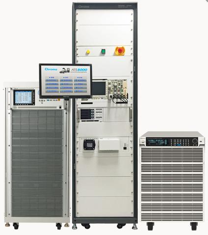 电动车无线充电器自动测试系统 Chroma 8000