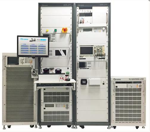 电动汽车供电设备/充电桩自动测试系统 chroma 8000