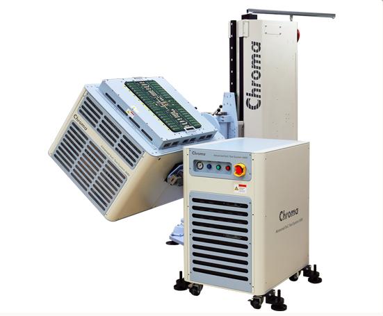 先进的SOC/模拟测试系统Chroma3680