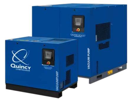 昆西QSV 系列变频螺杆式真空泵