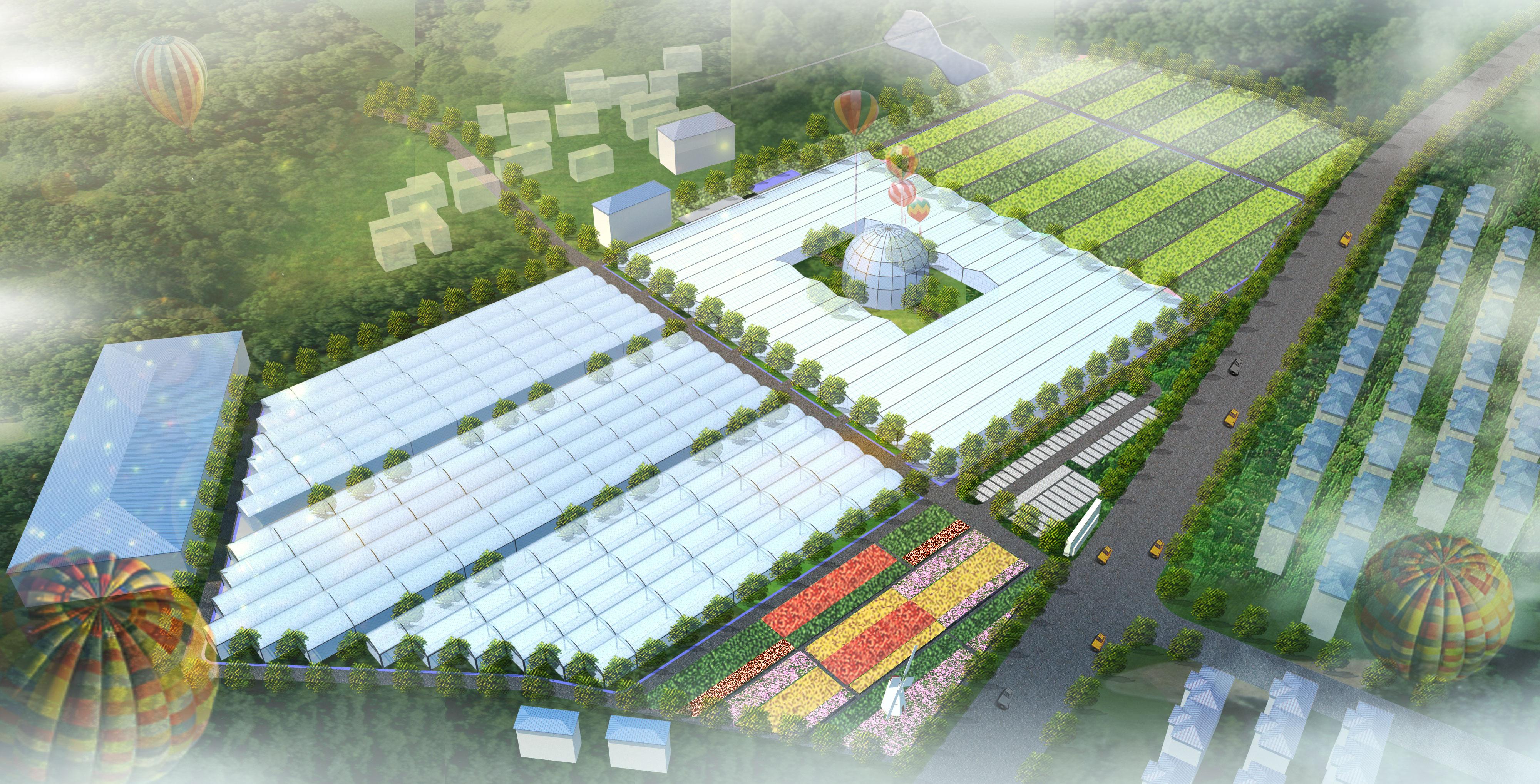 农业大棚展览中心