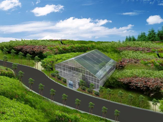 农用大棚整体设计