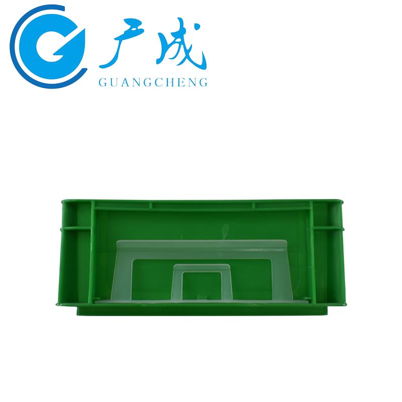 4312EU物流箱绿色侧面1