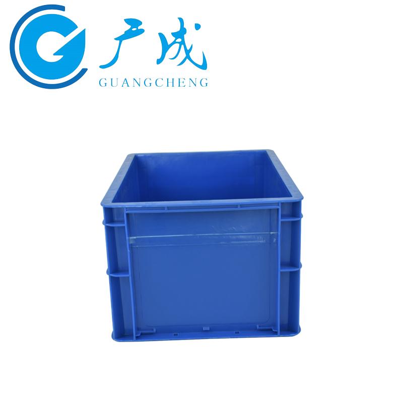 4322EU物流箱蓝色侧面细节
