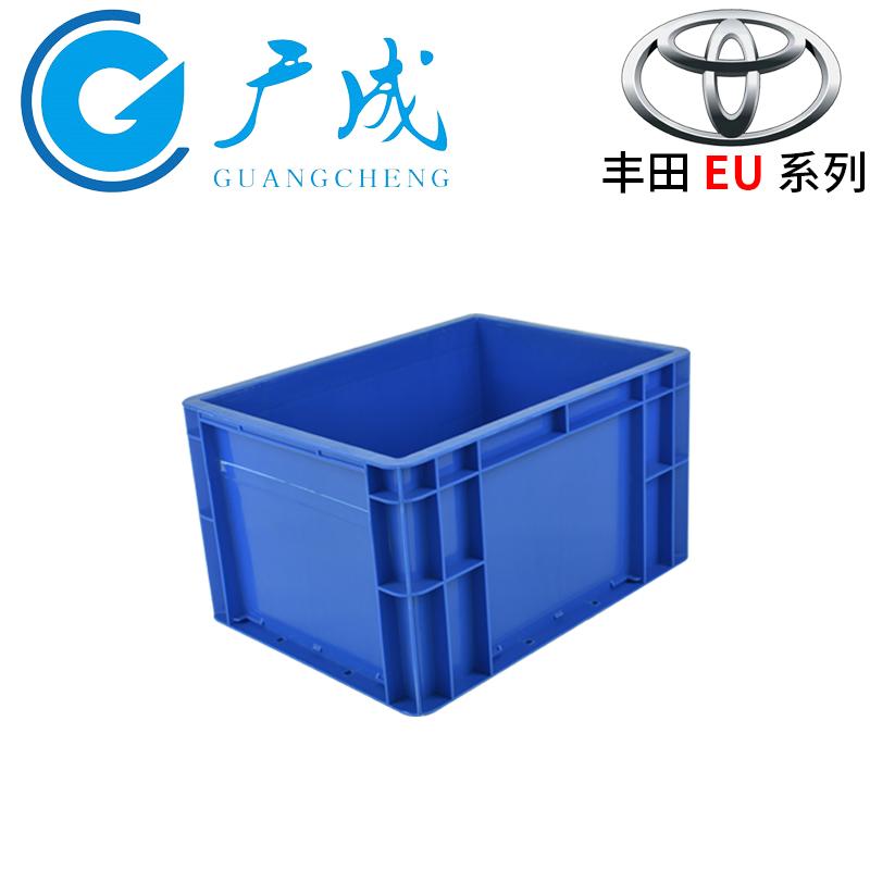 4322EU物流箱藍色45°圖