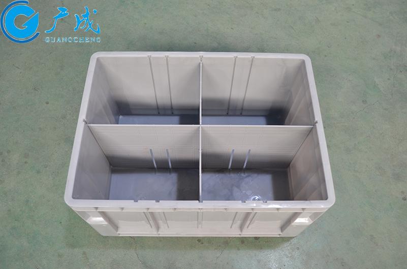 6232自动立体仓库定制物流箱内部隔开效果演示