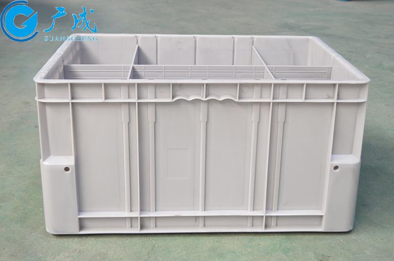 PE塑料生產的立體倉庫用物流箱