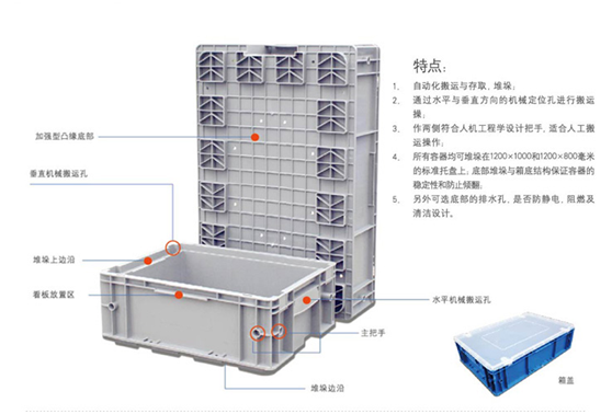 LKT物流箱的特点