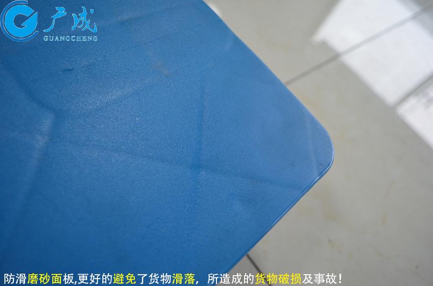 1007平板六腳墊板塑料托盤面板特寫