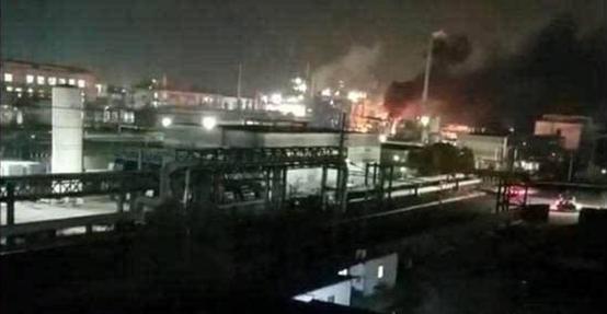 泰興化工廠爆炸街拍