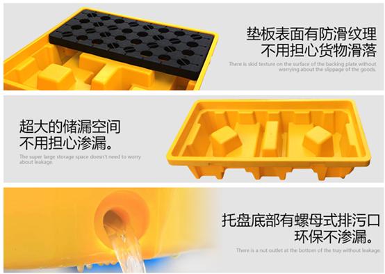 防渗漏塑料托盘各类特点