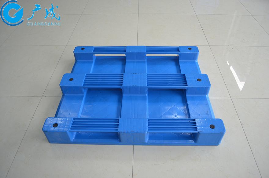 双平面平板川字塑料托盘