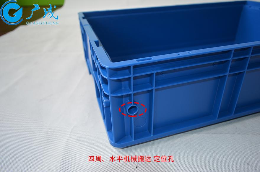 KLT6147物流箱水平定位孔