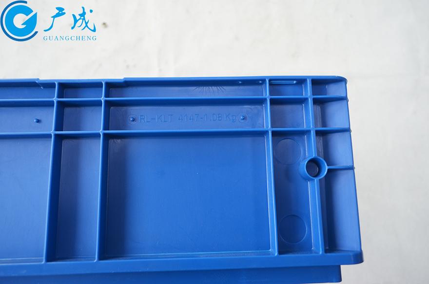 KLT4147物流箱箱体型号标签