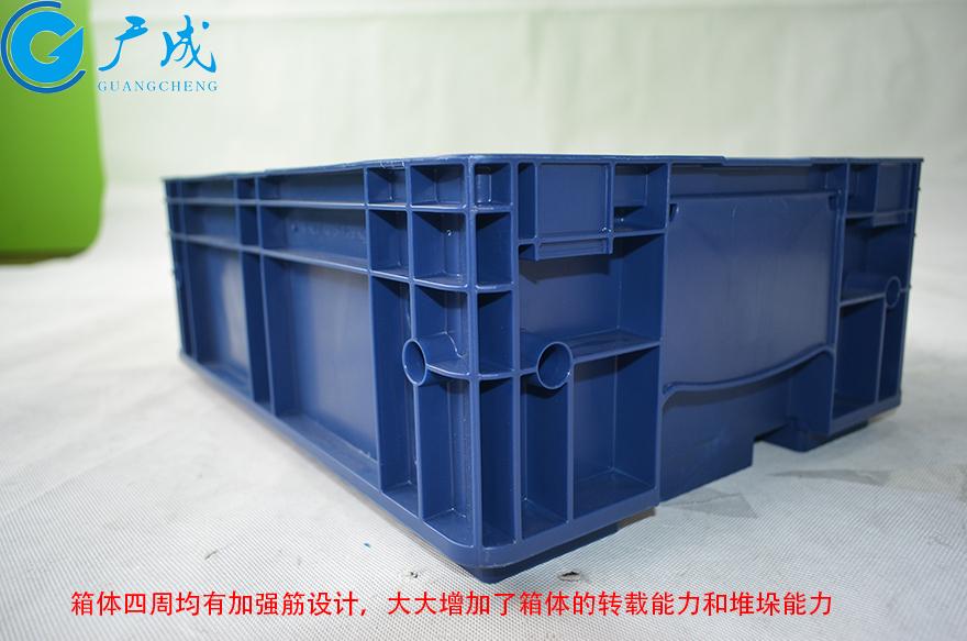 KLT4315物流箱加强筋