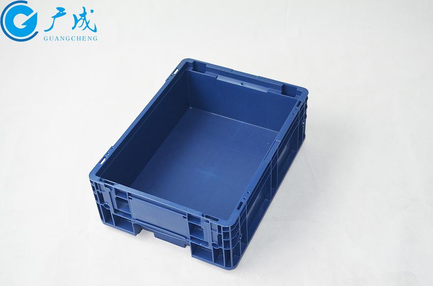 KLT4315物流箱45度特写