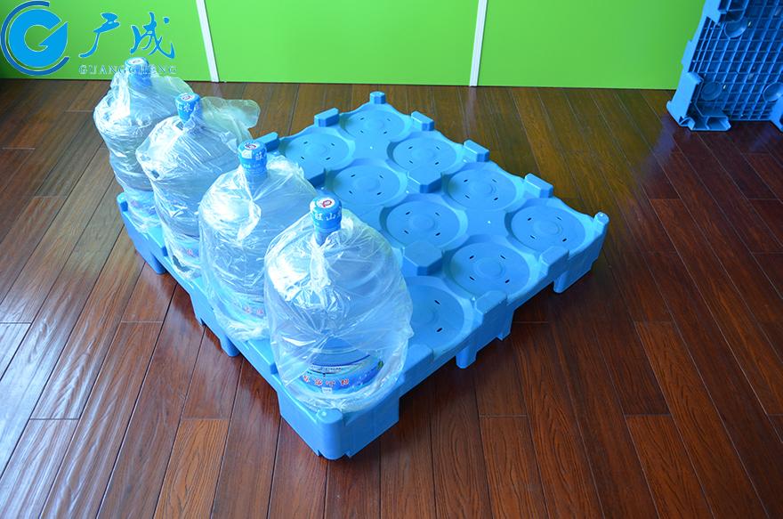 桶装水专用塑料托盘装载