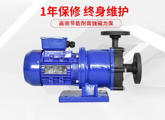 泓川耐酸碱耐腐蚀磁力泵GY-350PW-CV