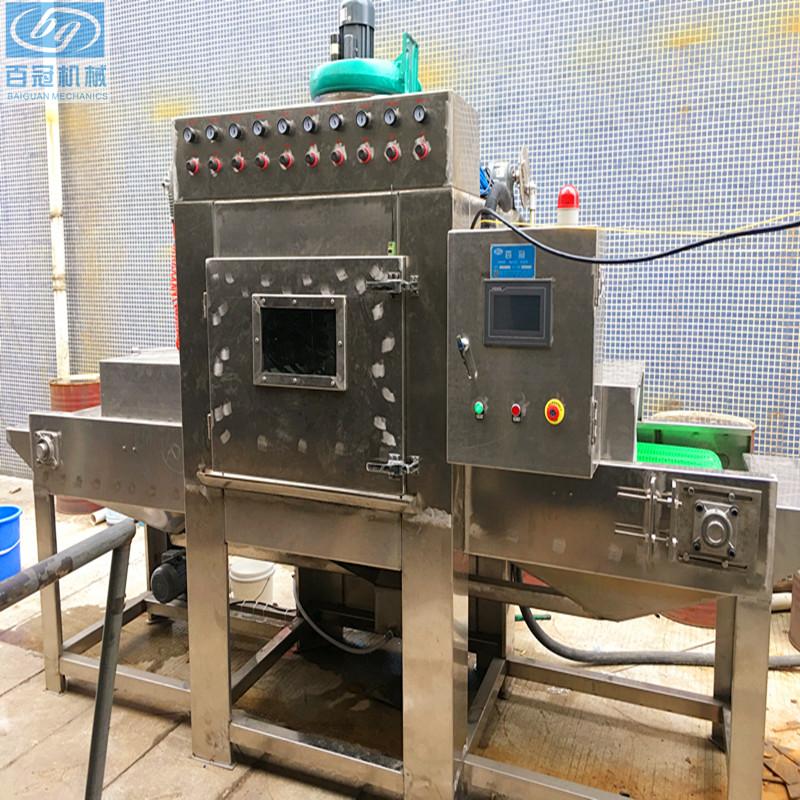 自动水喷砂机定做非标喷砂机湿式自动喷砂机